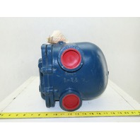 """Armstrong Model 15-B8 Series 2"""" 15 psi Cast Iron F&T Steam Trap"""