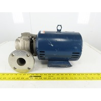 Aurora Type 321SS 7.5HP Stainless Steel Centrifugal End Suction Pump 2x2.5x6 3Ph