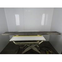 """97"""" x 12"""" x 1-3/4"""" Steel Weld T-Slot Table Cast Iron Press/Layout 6 Slot, JIG"""