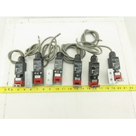 Omron D4NS-1AF 240V AC/DC Door Gate Safety Interlock Switch Lot Of 6