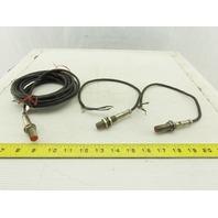 General Electric CR215DB 10-30VDC Class II Proximity Sensor Lot Of 3