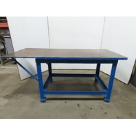"84x36x39""H Welding Assembly Layout Table Bench Machine Base 1-1/2"" Thick Top"