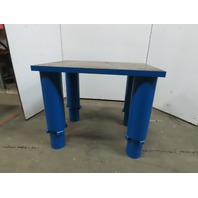 "48x36x25-40""H Welding Assembly Layout Table Bench Machine Base 2"" Thick Top"