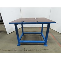 "41x36x31-1/2""H Welding Assembly Layout Table Bench Machine Base 1"" Thick Top"