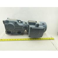 Sew Eurodrive K37DT71C4BMG05HRTHSR11 Gear Reducer Brake Motor 106.38:1 Ratio