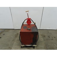Gasboy 1770AH3 Super Jet 50 Gallon Capacity Manual Fuel Gas Transfer Pump Tank