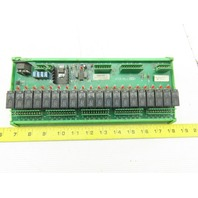 Inter-Rele 8525772 Rev 2 20 Point Relay Circuit Board