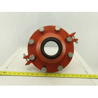 "Gruvlok 7072 Flanged Concentric Reducer 6"" x 3"" Assembly"
