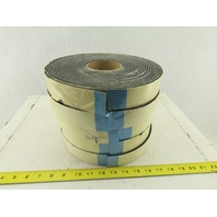 """1-1/2"""" x 4mm Thick Cellulose Adhesive Back Foam Tape 35' Rolls Lot Of 5"""