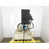 18 Gallon Hydraulic Power Unit Vickers PVB10 RSY41CM12 230V 3Ph W/Heat Exchanger