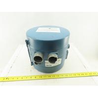 Ametek Sprial 037856 SL4A52FSA 25Mfd Duplex Regenerative Blower 208-230V 1Ph