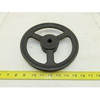 "Maurey E-10 7-7/8"" OD A Style V-Belt 5/8"" Bore Single Belt Pulley Sheave"