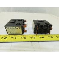Matsushita VC20-1a-AC24V-K 2Hp 240V Single Phase 20A Relay Lot Of 2