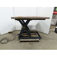 "T&S Equipment Co. 2000LB Scissor Lift Table 54x54"" Top 11""-46"" Lift 230/460V 3Ph"