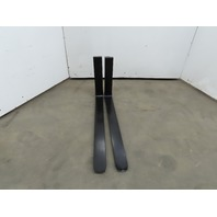 """Forklift Forks 4""""x42"""" Class 2 Cam Latch Style 1 Pair"""