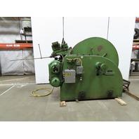 Littell CC60-12 Variable Speed 60x12 Coil Cradle 6000LB  W/312-CC60 Straightener