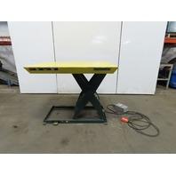 """Southworth LS2 36 2000Lb Hydraulic Scissor Lift Table 48""""x40"""" Top 480V 3Ph"""