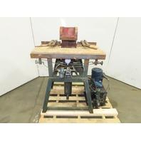 """Gang Nail 8"""" x 8"""" Lumber Stretcher C-Frame Press & Hydraulic Unit 2Hp 3Ph"""