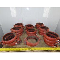 """Victaulic 8/219.1-107H 8"""" Coupling W/Gasket Lot of 24"""