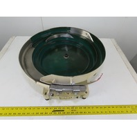 "Magnetic Vibratory Small Parts Feeder Bowl 115V 3"" Deep x 15"" Diameter"
