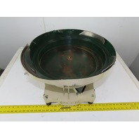 "Magnetic Vibratory Small Parts Feeder Bowl 115V 4"" Deep x 17"" Diameter"