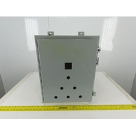 "A-201608LP 20""x16""x8"" Wall Mount Electrical JIC Enclosure w/Backplate"