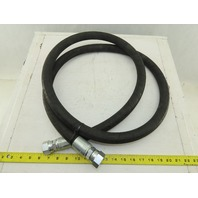 "Alfagomma N853 2SN 3/4"" High Pressure Hose 3120PSI Fittings -12 3/4"" 14TPI"