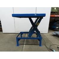 "T & S Equipment 4000Lb Hydraulic Scissor Lift Table 48x48""  22-58"" Lift 115V 1Ph"
