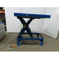 "T & S Equipment 4000Lb Hydraulic Scissor Lift Table 48x48""  20-55"" Lift 115V 1Ph"