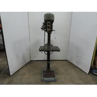 """Walker Turner 1112-41 20"""" Pedestal Drill Press Mill/Drill 208-220/440V 1Hp"""