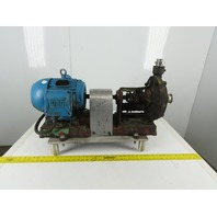 Viking 1-11/2A 3Hp 1760 RPM 230/460V 3Ph Hydraulic Pump Motor Package