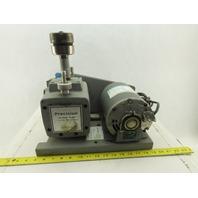 Precision D25 Belt-Driven Vacuum Pump 0.9cu ft/min 1/3HP Motor 115V 1Ph 1725 RPM