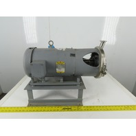 GH Products GHC-1/162 7-1/2Hp 3450 RPM 208-230/460V Sanitary Pump Motor Package