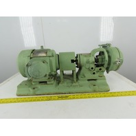 Goulds 3199 1x1-1/4x6 Centrifugal End Suction Pump 1.5Hp 220/440V 3Ph