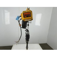 Harrington NER003SCC 1/4 Ton Electric Chain Hoist 7' Lift 39FPM 230/460V 3Ph