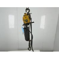 Ingersoll Rand ML1000K-2C00-C6 1 Ton 24' Travel 49FPM Pneumatic Chain Hoist