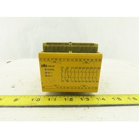 Pilz PZE 9P 24V AC/DC 8NO 1NC Contacts 2 Channel Safety Relay