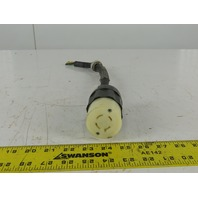 Leviton NEMA L16-02 4 Prong Female Grounded Cord Body Pig Tale 20A 480V
