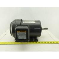 Dayton 3KW91G 1Hp 1745RPM 3Ph 208-230/460V 143T Frame Electric AC Motor TEFC