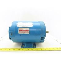 Leeson A6T17DK16A 1Hp 1725RPM 208-230/460V E56C Frame Electric AC Motor