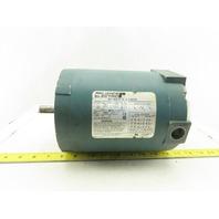 Reliance B77B7200S 3/4Hp 3450RPM 3Ph 240/480V FM56C Frame Electric AC Motor