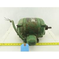US Motor Type SC 3/4Hp 1800RPM 3Ph 220/440V 50/60Hz Vintage Electric AC Motor