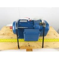 Sew Eurodrive DRS112M8 1.6Hp 840/1700RPM 480V D/YY Inverter Duty Motor