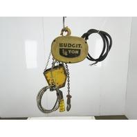 Budgit 310891-1 1/4 Ton 500Lb. 230/460V 1/4Hp 3Ph Chain Hoist 10' Lift 16FPM