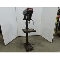 "Dayton 3Z91B 20"" Floor Model Drill Press 9 Speed 3/4Hp 115/220V 1Ph Single Phase"
