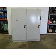 Hoffman A-90XM7818FTC 2 Door Freestanding Electrical Enclosure Cabinet