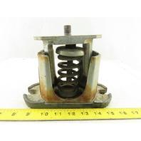 "VMC-1 1/2-13 x 3"" Brown Spring Stud Machine Leveling Pad 5-1/2"" Tall"