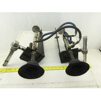 """5"""" Stroke Suction Cup Vacuum Lifter Two Arm Assembly"""