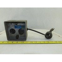 Lutron Model PD75 Powerdial 0-120V AC 0-85VDC Transformer Power Supply Control
