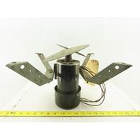 "General Electric 5KH19 RGR490 1/8Hp 1725RPM 115V 2 Blade 10"" HVAC Fan Blower"